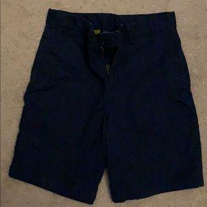 Navy Blue Polo youth uniform shorts